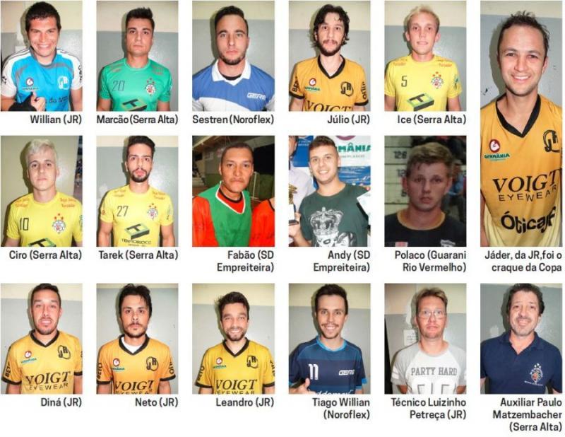Organização aponta os melhores jogadores da Copa Gazeta de Futsal ... fad61e8319a57
